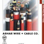کاتالوگ کابل های فشار قوی و متوسط، کاتالوگ شرکت سیم و کابل ابهر در 42 صفحه