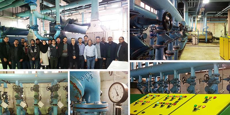 بازدید از تاسیسات برای دوره تاسیسات مکانیکی مرکز آموزش مهندسی MeM